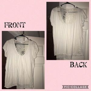T-Shirt w/lace